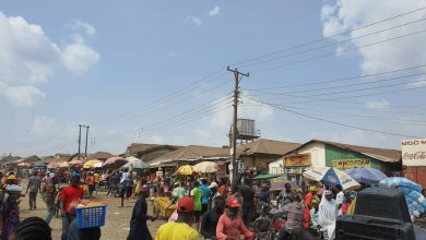 Business as usual at Mpape Market, Abuja