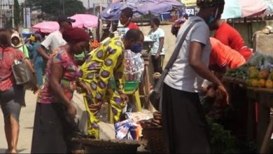 COVID-19: Panic As Nigerians Storm Banks, Streets In Frenzy Following Easing Of Lockdown