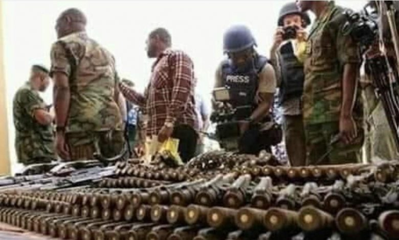 Fact-check: No, These Arms Were Not 'Discovered' in the House of Zamfara State Lawmaker