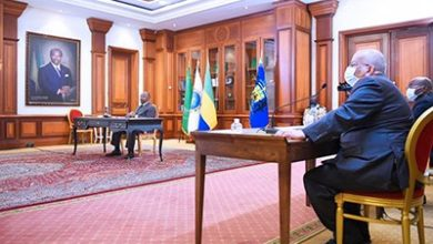 Ali Bongo Satisfied With Evolution Of The 11 Member State Eccas Treaty
