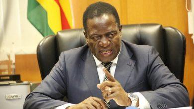 Zimbabwean President, Emmerson Mnangagwa