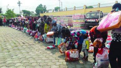 American NGO Nascent Solutions Offers Food Aid To Displaced Persons In SW Region