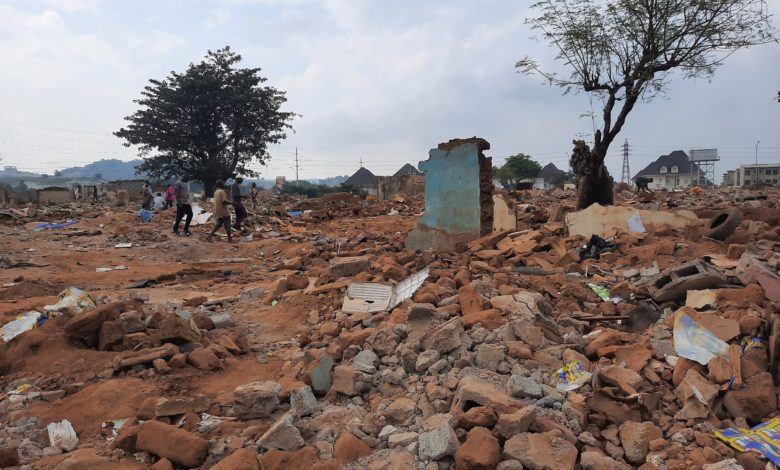 Scheduled Denied Compensation, Apo Demolition Victims Not Allowed To Save Valuables