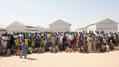 UNHCR And Chad Govt Visit Kouchaguine Moura Refugee Camp To Assess Refugees' Needs