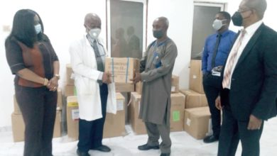 COVID-19: ICRC, NMA Donate Protective Equipment To Anambra Isolation Centre
