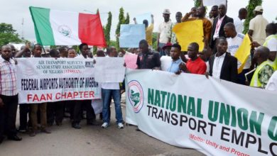 NLC Threatens To Shut Down Over Plan To Concession Airports