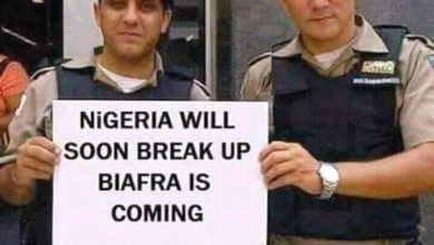 Photoshopped Picture Used to Depict Foreign Support for Pro-Biafra Agitation