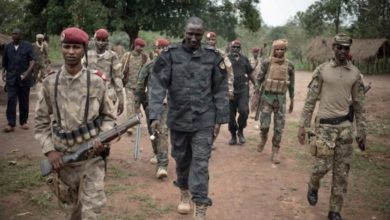 CAR Rebel Colonel Arrested By Government Forces