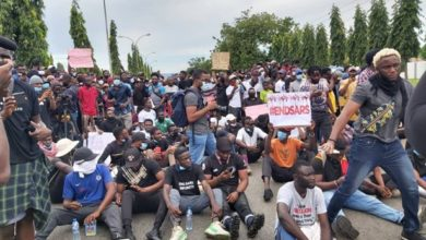 Day 3: Abuja #EndSARs Protesters Dispersed With Force Again
