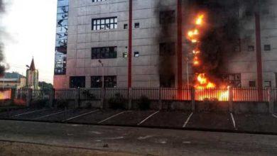 EndSARS: 2 Dead, Properties Destroyed As Hoodlums Hijack Protests in Uyo