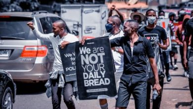 #EndSARS: Protest Turns Violent As Police Teargas Protesters in Jos