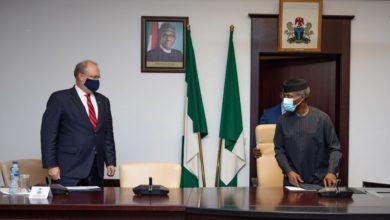 #EndSARs: US Delegations Meet Nigeria's Vice President