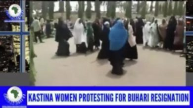 No, These Are Not Katsina Women Calling Buhari to Resign