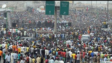 No, This is not a Picture of #EndSARS Protesters