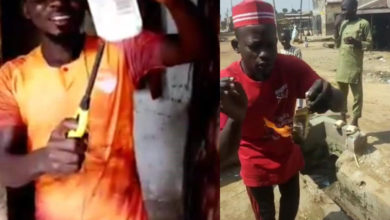 Politics Taken Too Far? Kano Youth Burn Money In Protest Amid Rising Poverty