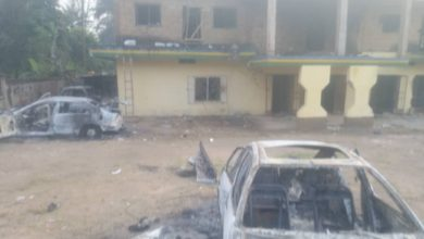 Youths Raze 4 Police Stations In Anambra Over Killing Of 2 Motorcyclists