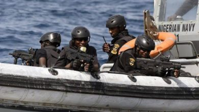 Nigerian Navy Upgrading OutPost In Baga, Borno State