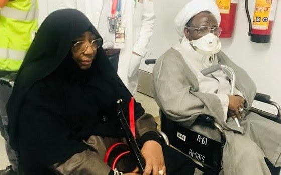 Zakzaky's Wife Contracts COVID-19 In Detention