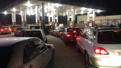 Matrix filling station along Airport Road, Maiduguri, on Feb. 18, 2021. Photo: Kyari Mustafa/HumAngle