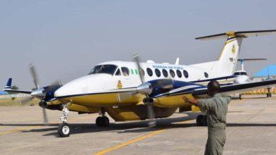 Nigerian Air Force Beechcraft surveillance aircraft