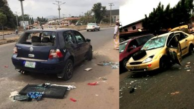 Scene of Ondo State NURTW clash, Photo credit: Channels.