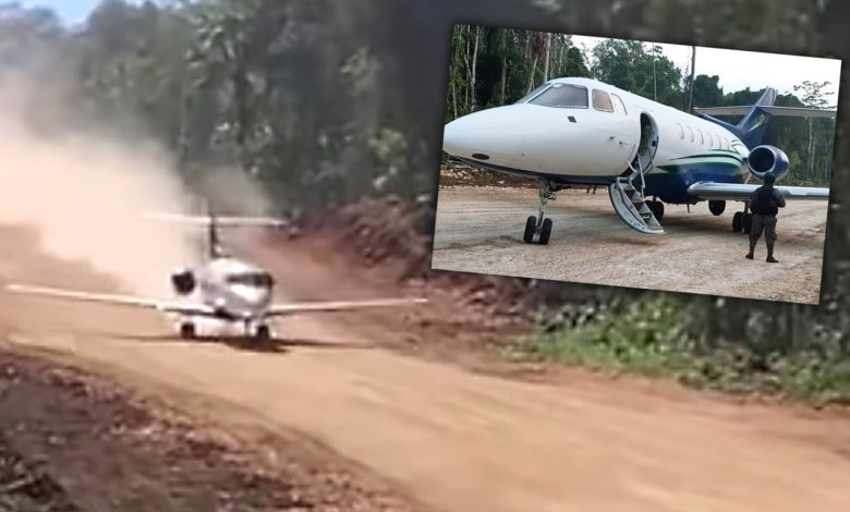 The jet shown in the viral video. Source: The Drive
