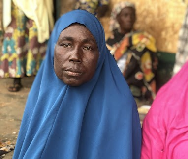 Twice widowed, now an IDP after an encounter with terrorists
